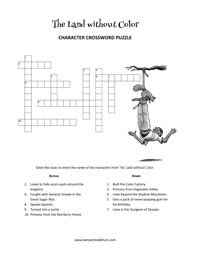 Crossword Puzzle from The Land without Color
